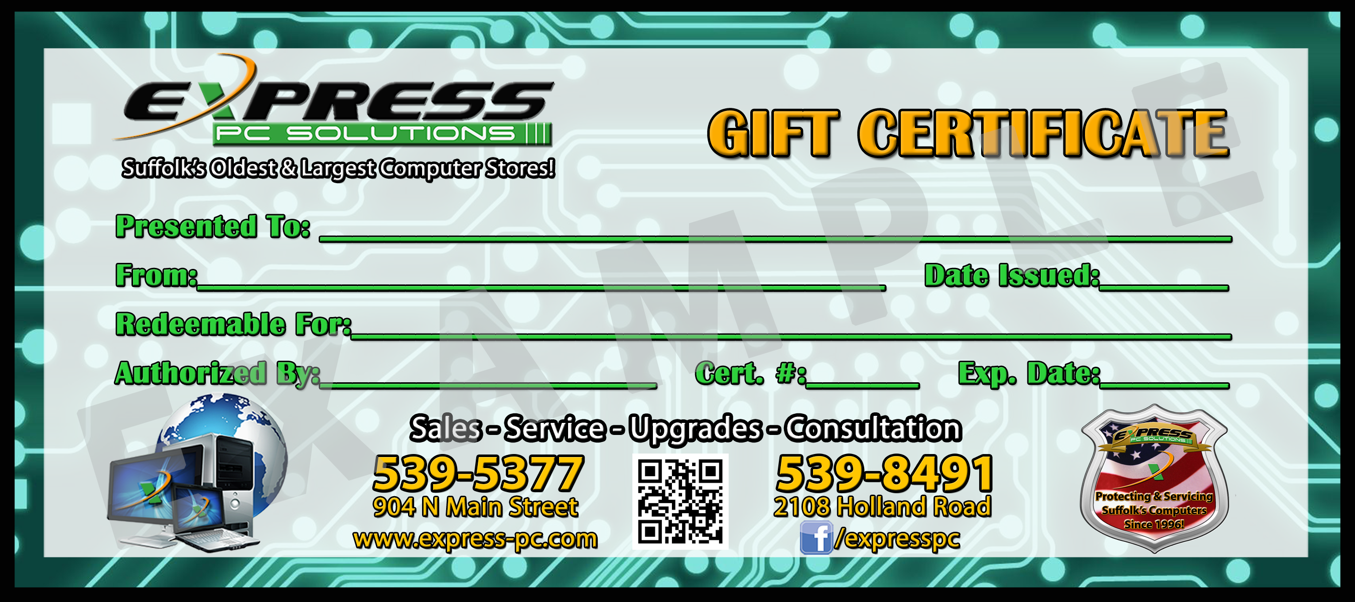 Gift Cert - 4X9 - NEW Example