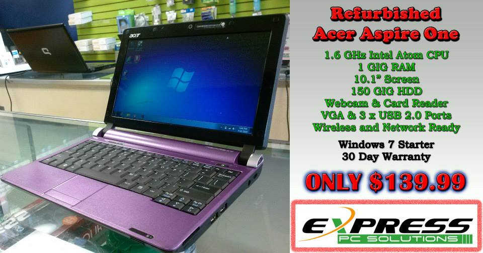 Acer Aspire One w Laptop